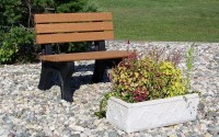 Park Classic 4 Foot Backed Bench