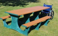 Poly Tuff ADA Easy Access | Eco-Friendly & Sustainable Picnic Table