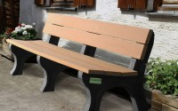 Traditional 6 Foot Backed Bench