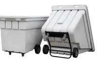 Heavy Duty Tecktrucks   Easy emptying push & utility carts