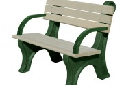 Park Classic 4 Foot Backed Bench With Arms