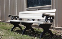 Monarque 6 Foot Backed Bench With Arms