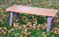 Traditional 4 Foot Flat Bench
