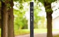 6 Ft Mile Marker