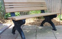 Cambridge 4 Foot Backed Bench