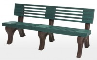 Elite 6 Foot Backed Bench