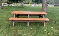 Deluxe 8 Foot Picnic Table