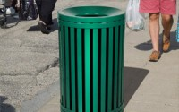 Streetscape Outdoor Trash Receptacle