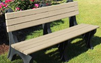 Park Classic 6 Foot Backed Bench