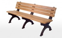 Monarque 6 Foot Backed Bench