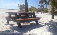 Deluxe 6 Foot Picnic Table