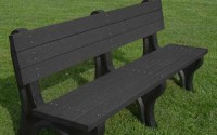 Deluxe 6 Foot Backed Bench