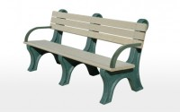 Park Classic 6 Foot Backed Bench With Arms