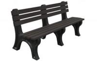 Econo-Mizer 6 Foot Backed Bench