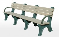 Park Classic 8 Foot Backed Bench With Arms
