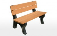 Traditional 4 Foot Backed Bench