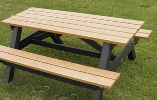 Rectangle Picnic Tables