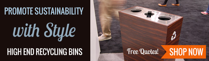 Recycle With Style - High End Recycling Bins - Shop Now