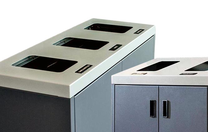 Summit Recycling Stations