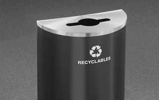 Recycling Bins for Washrooms & Restrooms Single Stream Recycling Bins & Containers