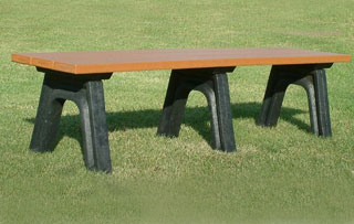 6 Foot - Flat Park Benches