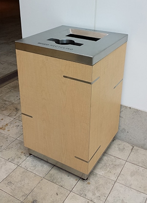 Aurora Double Stream Recycle Bin Waste Wise Products