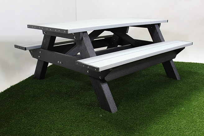 Deluxe 6 Foot Picnic Table Waste Wise Products