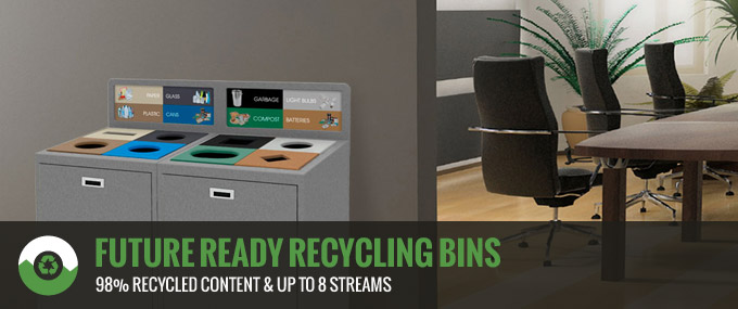 Should You Choose Future-Ready Recycling Containers for Your Office?