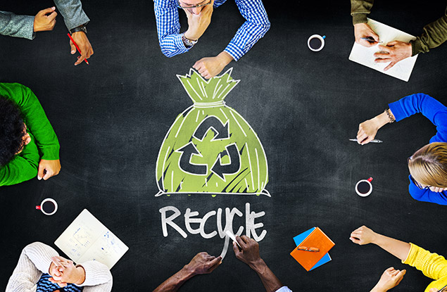 6 Benefits of Recycling in the Office