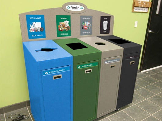 Front Service Recycling Station