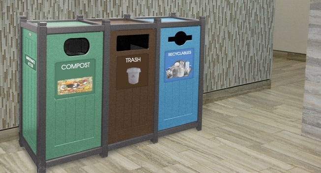 Our 5 Favorite Recycling Stations