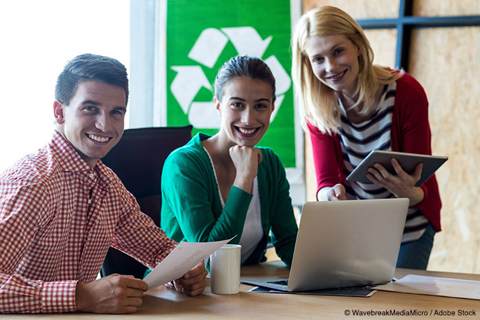 How to Recycle for a Greener Workplace
