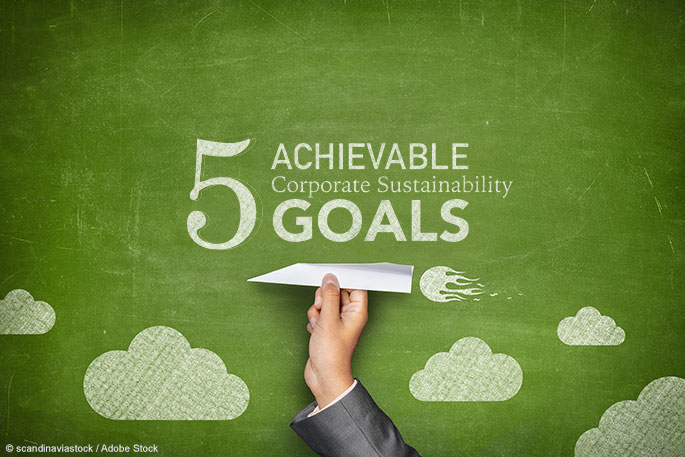 5 Achievable Corporate Sustainability Goals