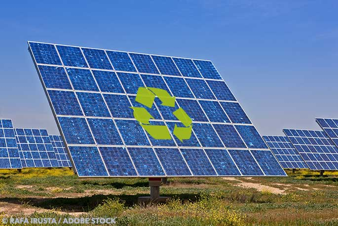 Could solar panel recycling be a lucrative business opportunity?