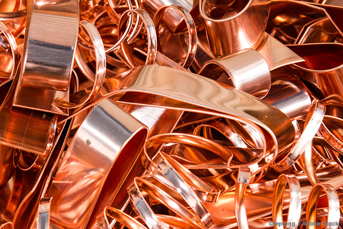 The challenges of copper recycling
