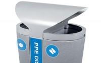 Galaxy Outdoor PPE Disposal Bin
