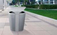 Galaxy Outdoor Waste Receptacle