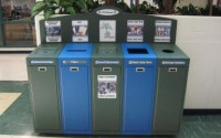 Front Service Recycling Station – 5 Stream