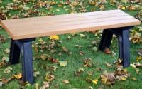 Deluxe 4 Foot Flat Bench