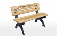 Cambridge 4 Foot Message Bench