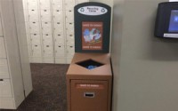 Front Service Recycling Station – Single Stream