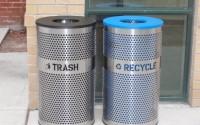 Venue Trash & Recycle Bins Combo
