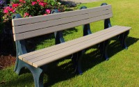 Park Classic 8 Foot Backed Bench