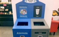 Front Service Recycling Station – Double Stream