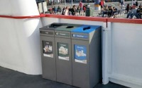 Small Top Loading Recycling Station – Triple Stream
