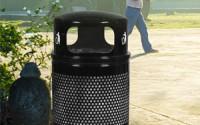 Landscape 34 Gallon Waste – Dome Top