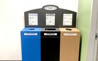 Large Top Loading Recycling Station – Triple Stream