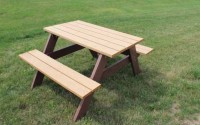 Econo-Mizer 4 Foot Picnic Table