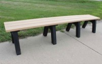 Traditional 8 Foot Flat Bench