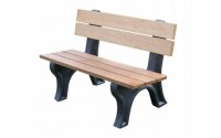 Econo-mizer Traditional 4 Foot Backed Bench
